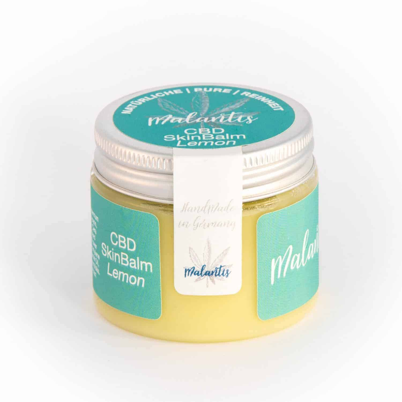 Malantis CBD SkinBalm Lemon