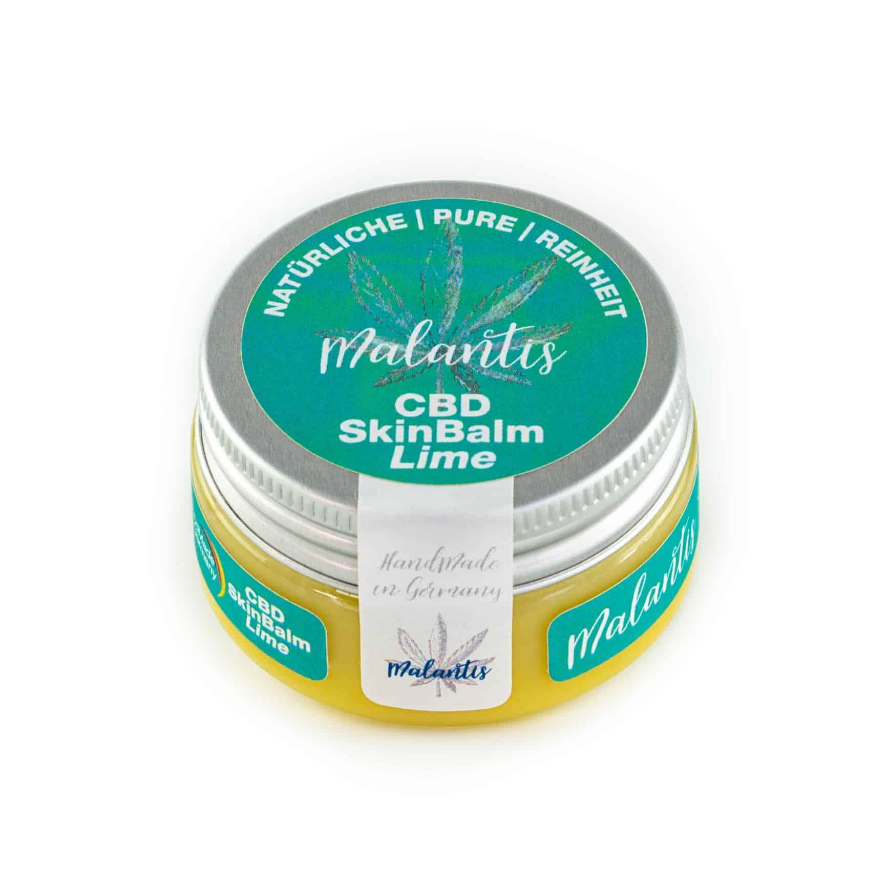 Malantis CBD SkinBalm Lime