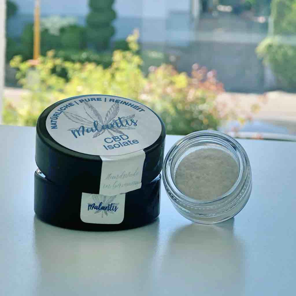 Malantis CBD Isolate CBD Kristalle