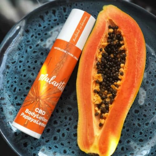Malantis CBD BodyLotion Papaya Lemon