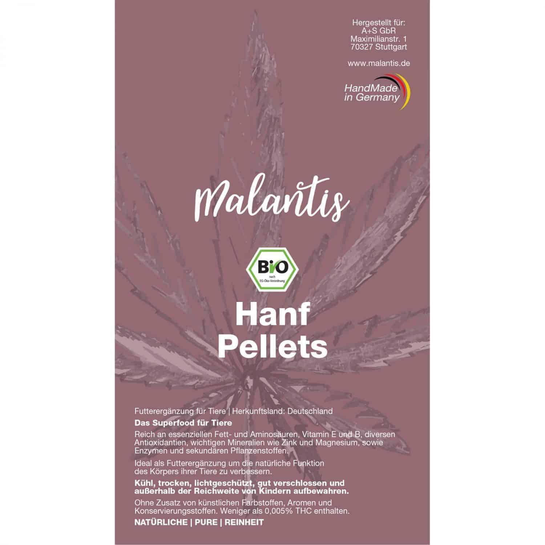 Malantis BIO Hanf Pellets