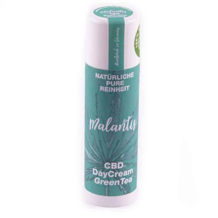 Malantis CBD DayCream GreenTea